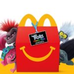 Personaggi Trolls con Happy Meal