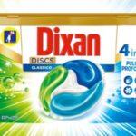 Come richiedere campione omaggio Dixan Discs Classico