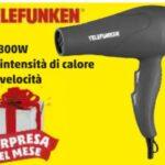 Asciugacapelli Telefunken a 1 euro (Penny Market)