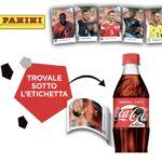 Figurine Europeo Panini in regalo con Coca Cola
