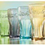 Bicchiere Coca Cola con 2 McMenu Large